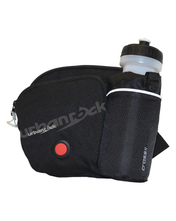 Hüfttasche zum Wandern, Laufen, Biken oder wo du sie sonst so brauchst. Mit praktischer Trinkflaschenhalterung