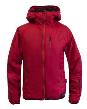Isolationsjacke Everest Herren in rot. Zum Skifahren, Snowboarden und Winterwandern geeignet.