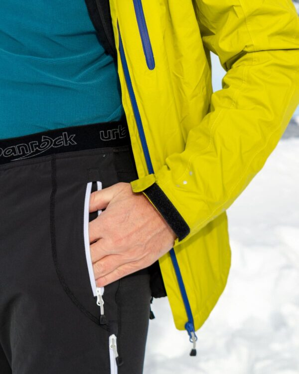 Skitourenhose mit Gummizug am Bund