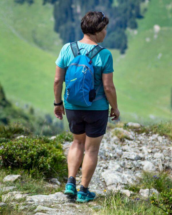 Wandern an der Tschaggunser Mittagsspitze mit dem Wanderrucksack Race 10.