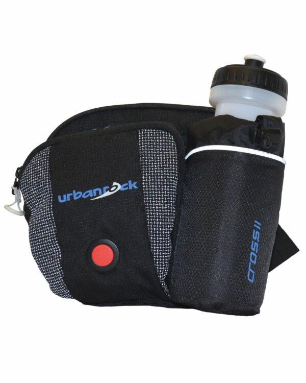 Hüfttasche mit LED-Licht. Für Nacht-Biketouren oder Nacht-Wanderungen. Damit du besonders sicher unterwegs bist.