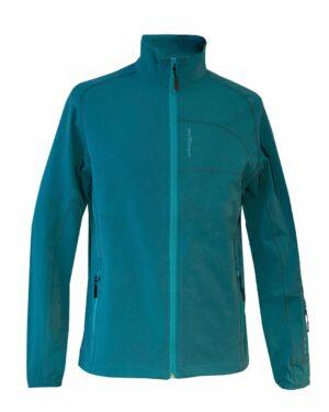 Sportjacke Softshell Dana für Herren in aqua-blau