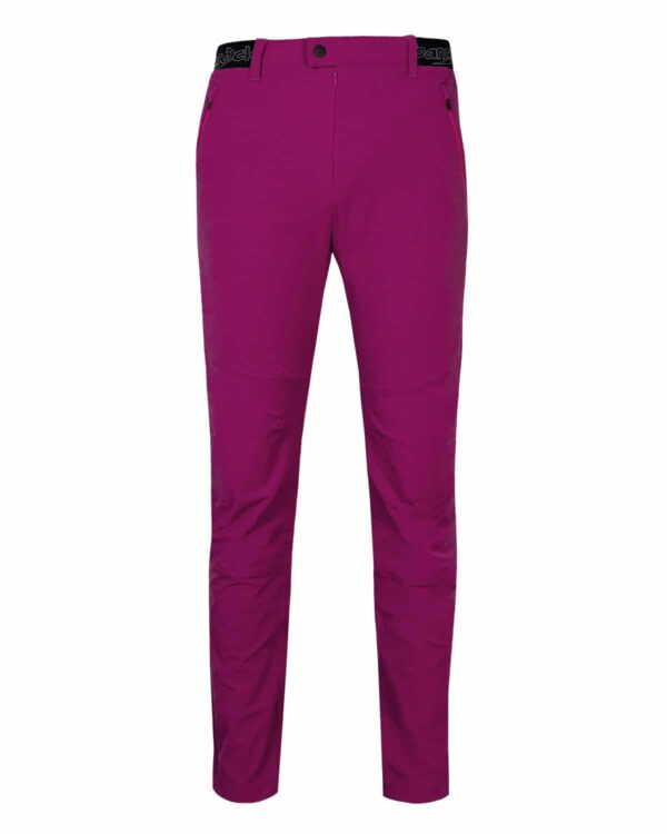 Magenta-farbige Outdoorhose. Trendige Farbe, toller Schnitt, funktionelles Material