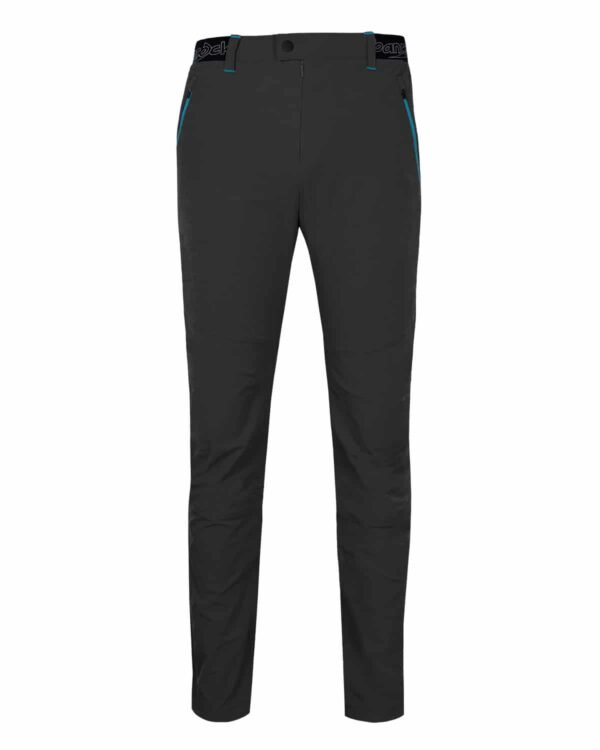 schwarze Outdoorhose. Trendige Farbe, toller Schnitt, funktionelles Material