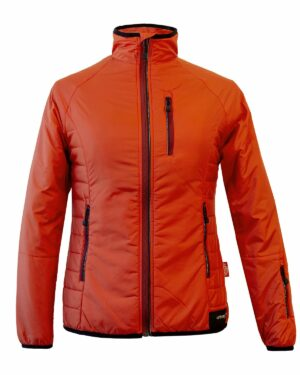 Leichte Isolationsjacke in Orange
