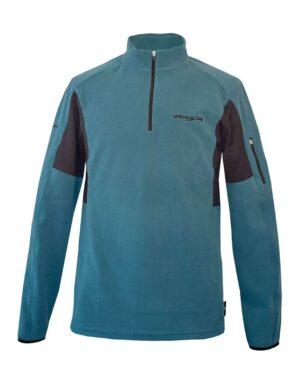 Pullover in Petrol für verschiedene Outdoorsportarten geeignet