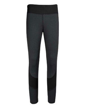 Vorderansicht der Tight/Leggings Spirit für Damen. Zum Wandern, Mountainbiken und für Yoga oder andere Sportarten geeignet.