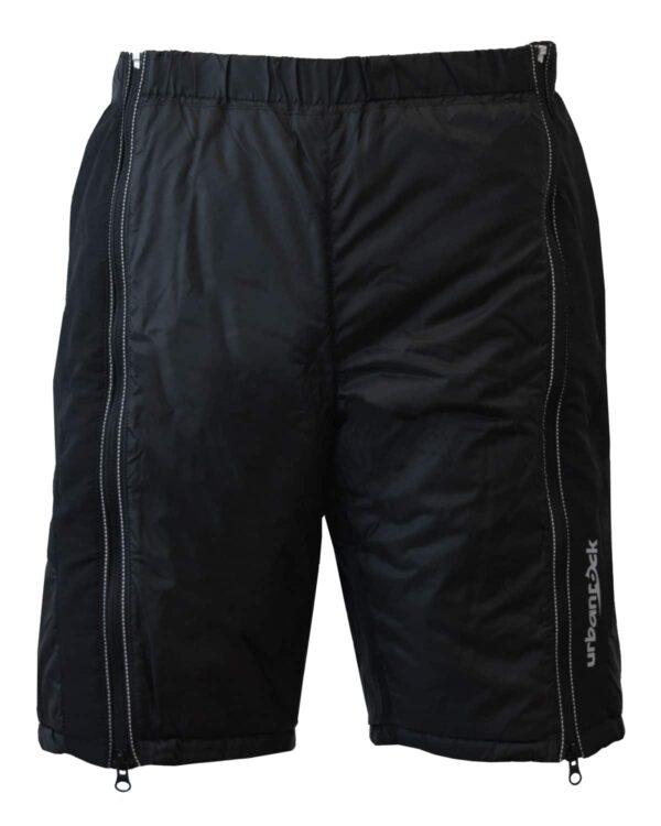 Starterhose kurz in schwarz. Unisex, robust, kleines Packvolumen