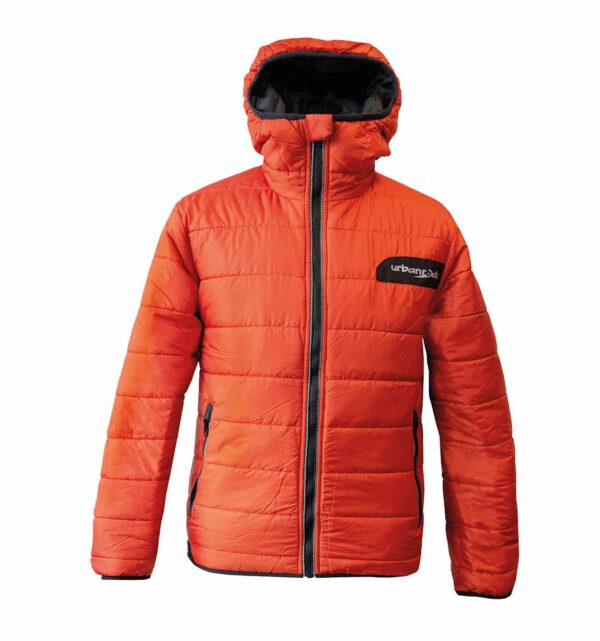 Produktbild der Winterjacke und Wendejacke Vinson, Herrenversion in orange
