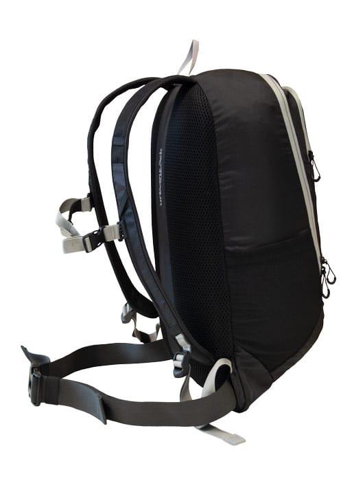 Produktbild des E-Bike Rucksackes Offroad 18e seitlich schwarz