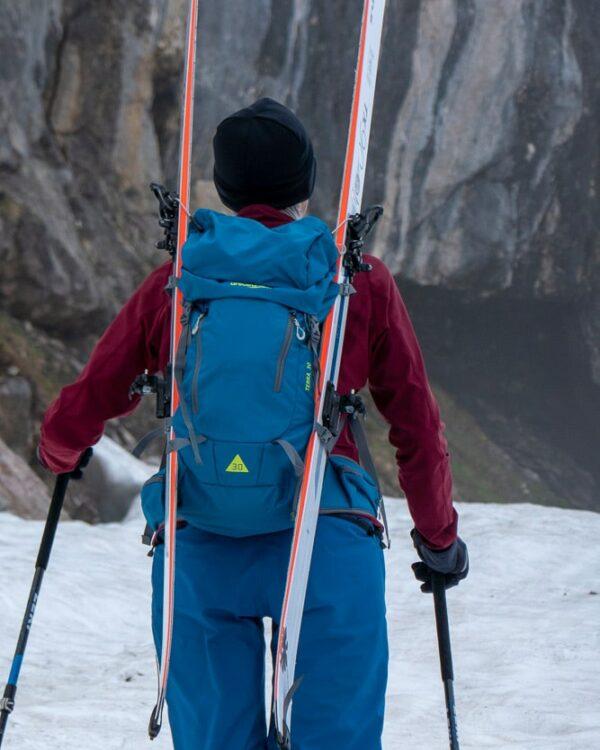 terra rucksack skihalterung