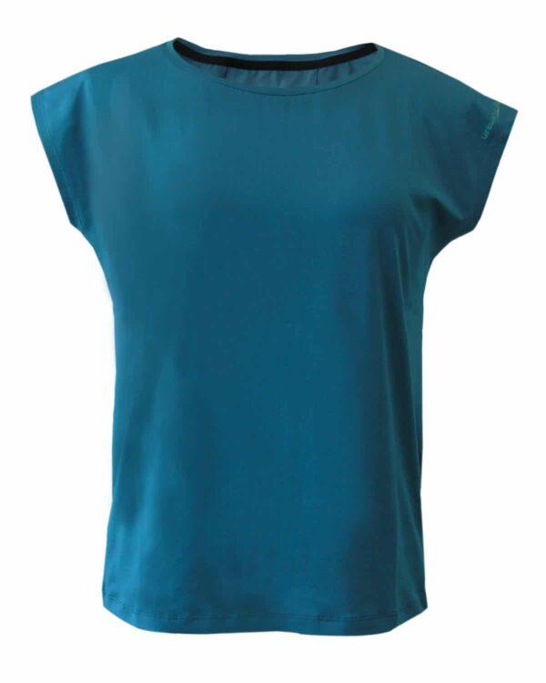 Funktionsshirt Verbella aus Tencel™-Material. Bequem, elastisch und geeignet für viele verschiedene Sportarten, in blau