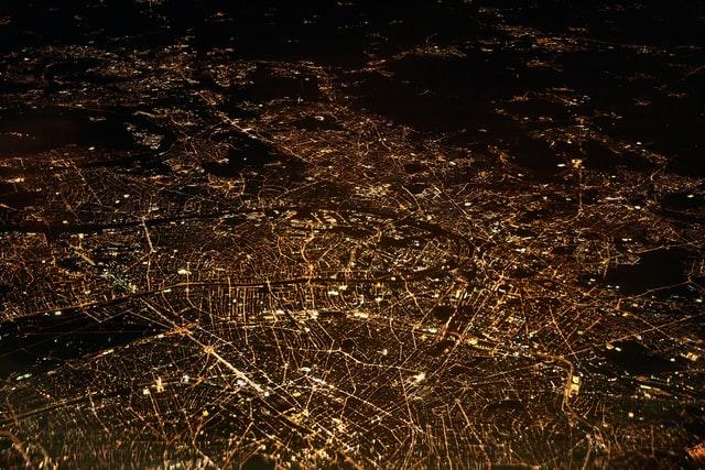 Stimmungsbild Daten, Datenschutz. Vernetzte Stadt.
