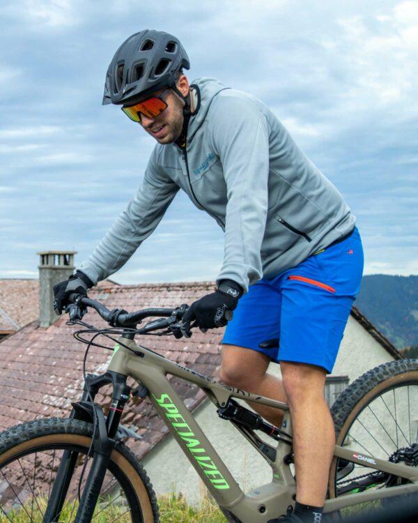 Shorts zum Mountainbiken. Entwickelt in Hohenems, Vorarlberg, Österreich.