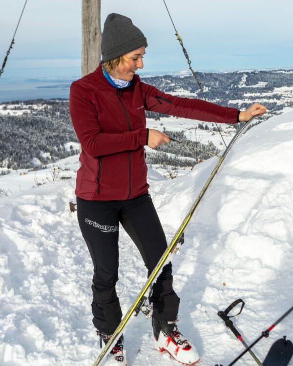 Skitour an den Brüggelekopf in Alberschwende, mit der elastischen und bequemen Skitourenhose Tour Light