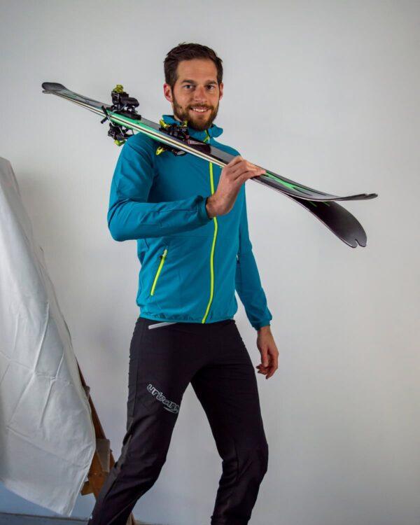 Skitourenhose für Herren, auch zum Wandern geeignet.