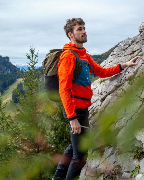 Wanderung auf den Staufen mit funktioneller Outdoor-Softshelljacke