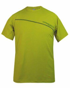 Herren-Funktionsshirt aus Polyamid Davenna in citronelle. Für verschiedene Sportarten geeignet, wie Wandern, Mountainbiken, Skitouren und sonstige Aktivitäten Draußen und in den Bergen.