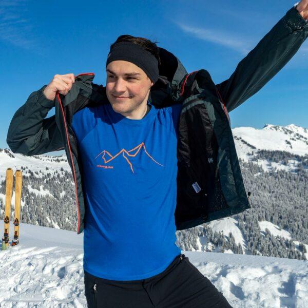 Alassio men blau skitour