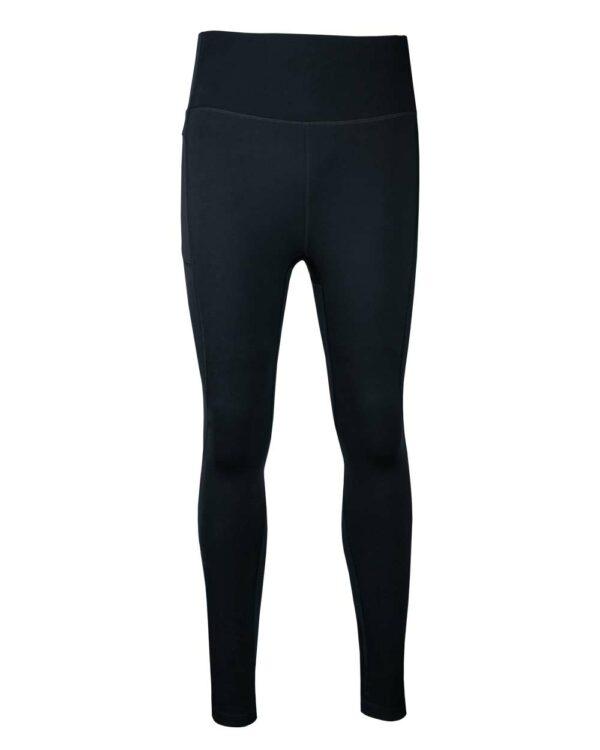 Funktionelle Sport-Tights in schwarz